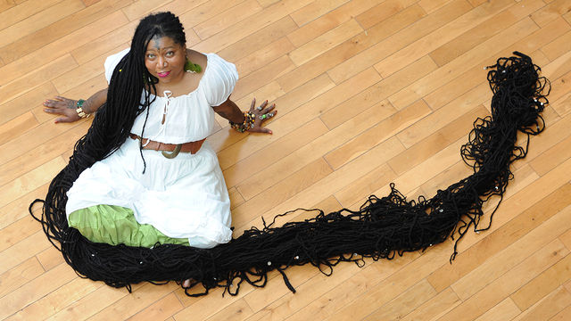 News video: World39;s Longest Dreadlocks: Guinness World Record